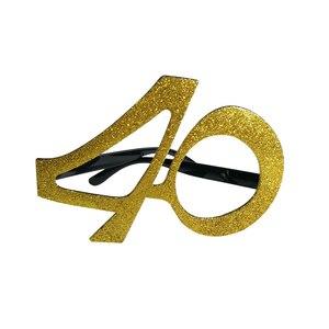 Chicinlife золото 30 40 50 60 очки на день рождения для женщин 30th 40th 50th 60th День рождения украшения косплей принадлежности подарок на день рождения