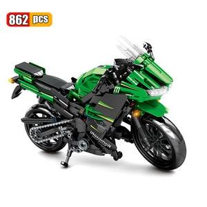 Image 5 - SEMBO 702 шт. техника мотоцикл мото от нагрузки автомобиль создатель эксперт строительные блоки город игрушки для детей мальчиков классические Кирпичи подарок