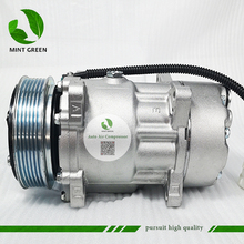 7V16 SANDEN Compressor AC para PEUGEOT 306 406 CITROEN XANTIA 6453FE 6453GA SD7V16 6453L5 9613260680 9640486480 1106 1227
