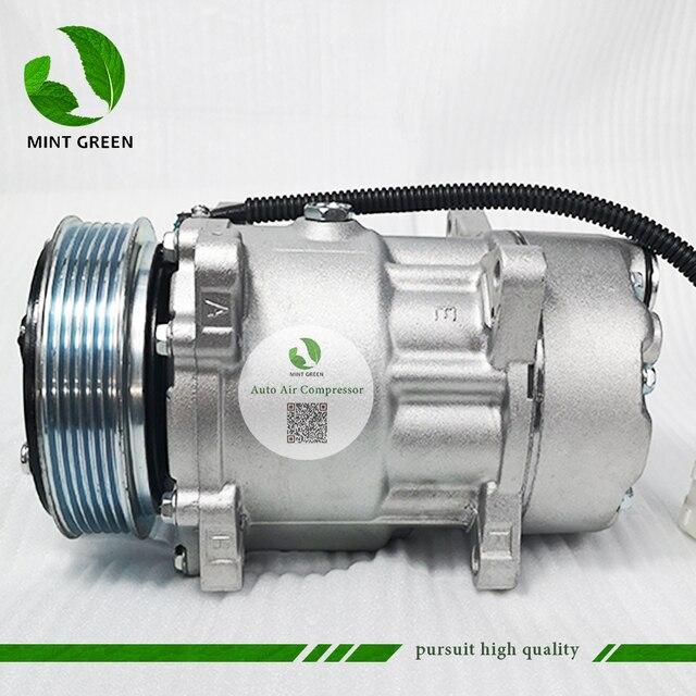 SANDEN 7V16  AC Compressor for PEUGEOT 306 406 for CITROEN XANTIA  6453FE 6453GA 6453L5 9613260680 9640486480 1106 1227 SD7V16