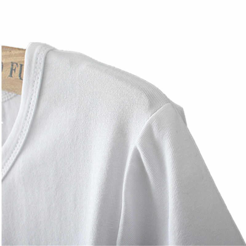Nowych kobiet luźne koszulka z krótkim rękawem odzież damska lato 2019 kobiet koszulka Harajuku na co dzień bawełna Tshirt Camiseta Mujer