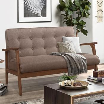 Loveseat Sofa Upholstered Furniture Living Room Sofa Bed Solid Home Furniture Two Seat Couch furniture home furniture living room furniture sofa tables shan farmers 1128