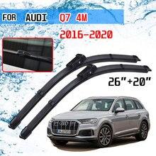 For Audi Q7 4M 2016 2017 2018 2019 2020 Accessories Car Front Window Windshield Windscreen Wiper Blades Brushes Cutter