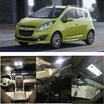 Interior Led lights For 2015 Chevrolet Camaro Caprice Captiva Sport City Express Colorado Malibu Silverado Sonic Spark 1
