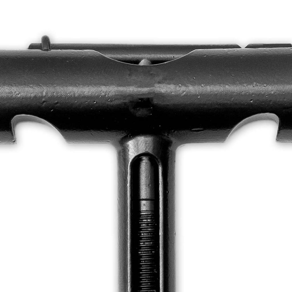 Skateboard T-Tool Multi-functional Skate Wheel Repair Maintain Allen Wrench