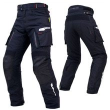 KOMINE Japanese Original Men Fallproof Motorcycle Riding Trousers Suit Wear-resistant Racing Pants 3XL