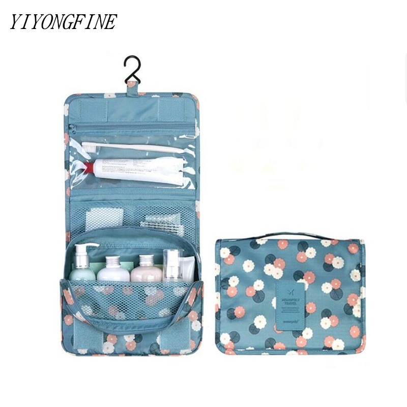 Cosmetic Bag For Women, Personal Hygiene Bag, Bathroom Washing Hanging Bags, Grooming Kit Makeup Organizer Bag