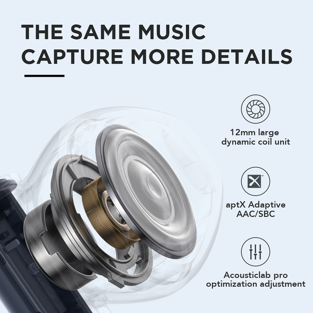 Haylou MoriPods Qualcomm QCC3040 wireless earphone Bluetooth V5.2 headset TWS headphone aptX adaptive AAC 4 microphones earbuds 4