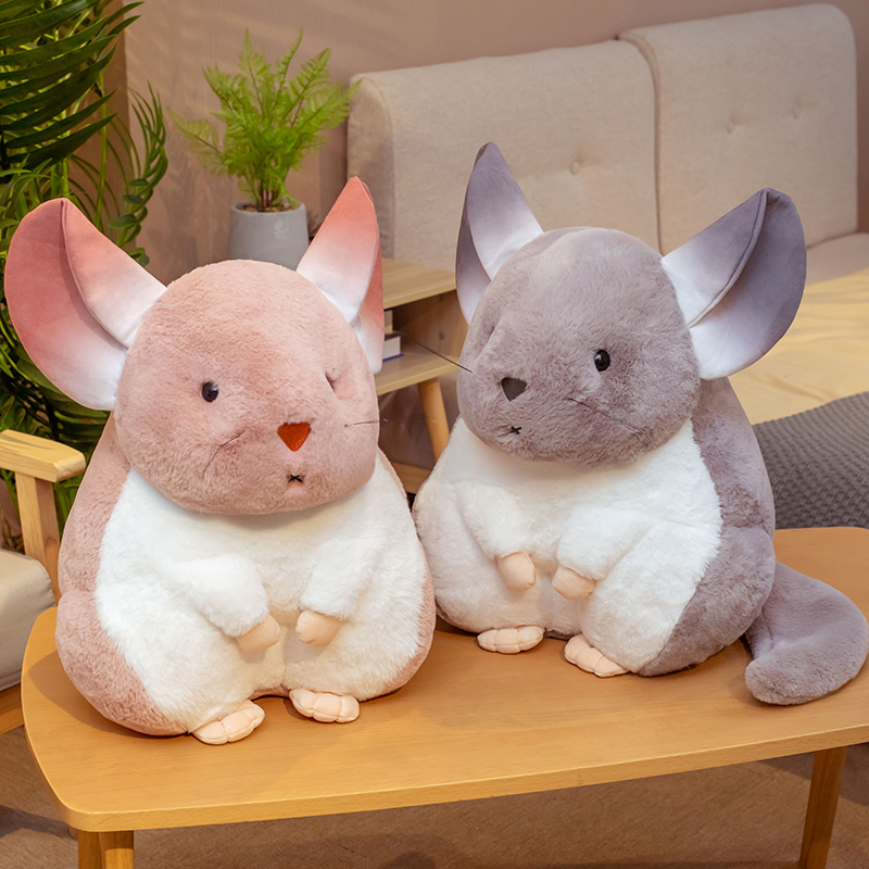 25-55cm Nette Simulation Hamster Plüsch Spielzeug Gefüllte Fett Echt-leben Maus Puppe Weichen Cartoon Tier Kissen geburtstag Geschenk für Kinder