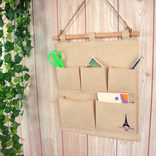 Bags-Supplies Letter-Holders Desk-Organizer Wall-Hanging-Bags Tower-Printed-Storage Creative