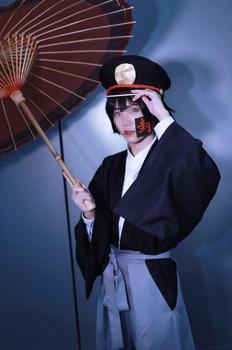 Baño-a Jibaku Shounen Hanako Kun Tsukasa Yugi Cosplay traje de Kimono japonés sombrero Tsukasa Yugi uniforme Carnaval de Halloween