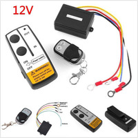 1 set 12V Winch Wireless Remote Control Controller Fits For Jeep Truck ATV atv winch Control Switch Waterproof Car Accessories