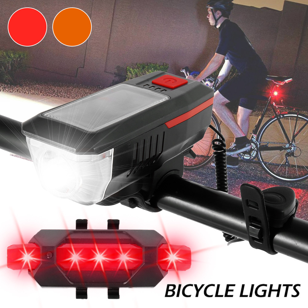 T6 LED Bicycle Front Light 10W 6 Modes Cycling Rechargeable MTB Bike Head Lamp