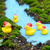 50 Pcs Mini Cute Ducks Miniatura Dollhouse Garden Home Bonsai Decoration Mini Toy Miniature Pvc Craft Ornaments Micro Decor DIY 2