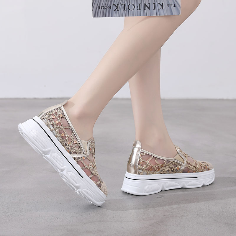 Women Flats Loafers Shallow,off Glitter Shoes,Shinestones Sneakers,Casual,Comfort,Woven,Breathable,Rubber Shoes,Loafers Shallow