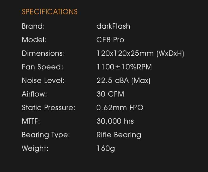 Aigo Darkflash CF8 Computer Pc Case Rgb Fan Clear Frame 120 Mm Fans Rustig + Remote Computer Cooling Aura Sync cpu Koeler Rgb Case F