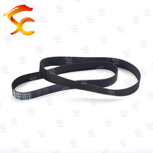 2pcs GT2/2M-336-6/10mm belt closed loop rubber timing belt Teeth 168  Length 336mm width 10/6mm for 3D printer