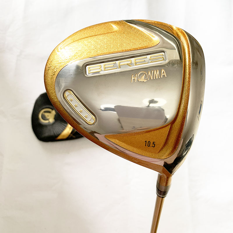 New Golf club HONMA S-07 4 star Golf complete clubs Driver Fairway wood irons Putter bag Graphite Golf Shaft with Headcover 2