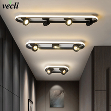 LED Ceiling lights aisle lights corridor lights modern minimalist creative cloakroom stairs porch LED spotlight lights цена 2017