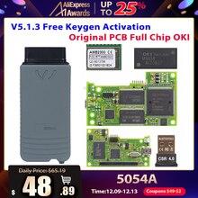 VAS5054 ODIS V4.3.3 keygen полный чип OKI Авто OBD2 инструмент диагностики VAS5054A VAS 5054A Bluetooth код читателя сканер