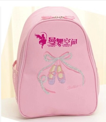 New Style Children Wu Dao Bao Thick Oxford Cloth Dancing Bag Embroidered Latin Bag Training Courses But Lettering
