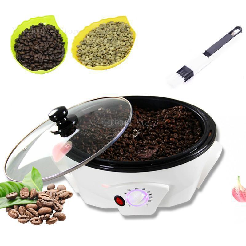 220V Coffee roasting machine household bean roaster small mini peanut nut electric baking appliance corn popcorn machine(China)