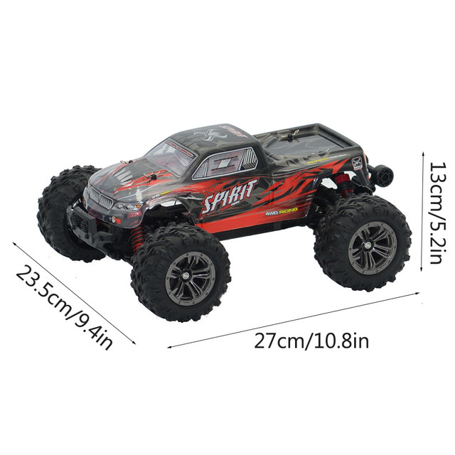 1:16 Racing RC Car Rock Crawler remote Control Truck 15 Mins Play Time 52KM/H 2.4 GHz Drift Buggy Toy Car For Kids#0515hwc 3