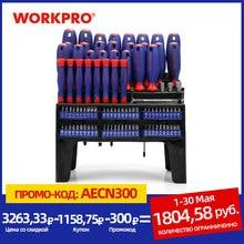 WORKPRO 100PC Screwdriver Set Home Tool Set Precision Screwdrivers for Phone Screw Driver