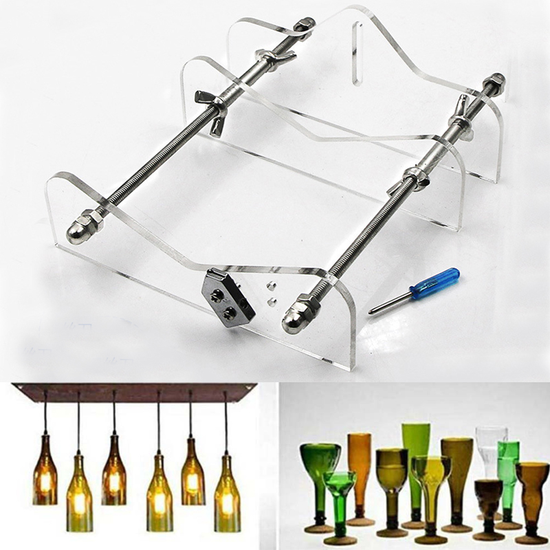 Professional Glass Bottle Cutter DIY Machine For Cutting Wine Beer Whiskey Alcohol Champagne Tool Kit Bottle Cutter Tool