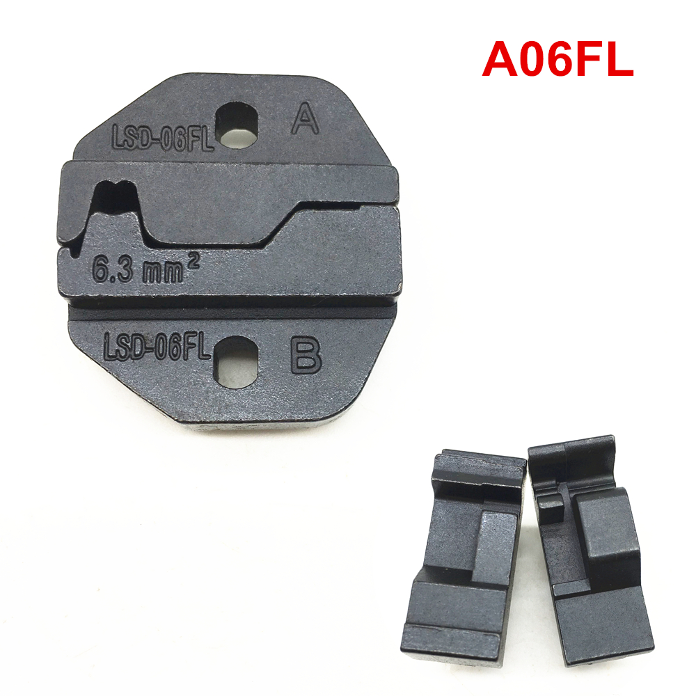 Crimping Die Sets A06FL For Crimping Flag Terminals Connector 6AWG 6.3mm2