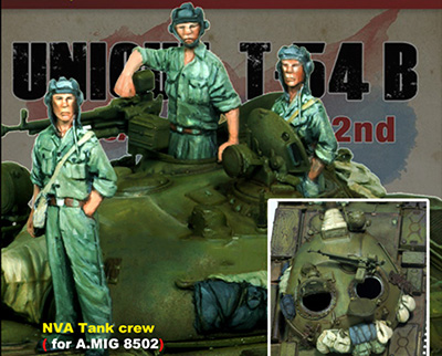 1/72  Ancient Tank Crews (3 Figures)   ( NO TANK )   Resin Figure Model Kits Miniature Gk Unassembly Unpainted