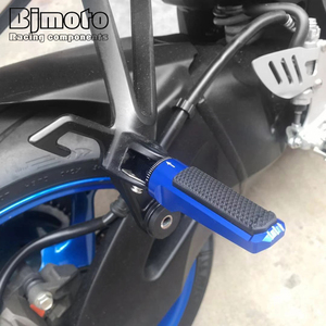 Image 5 - Pair Front Foot Pegs For KAWASAKI Z750R Z800 Z1000 Z1000R ZX 6R 636 ZX 10R Motorcycle Accessories Footrest Rider Pedal