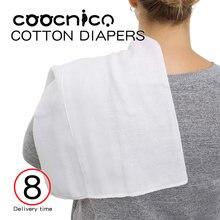 5 шт/лот марлевые подгузники для новорожденных мягкие моющиеся