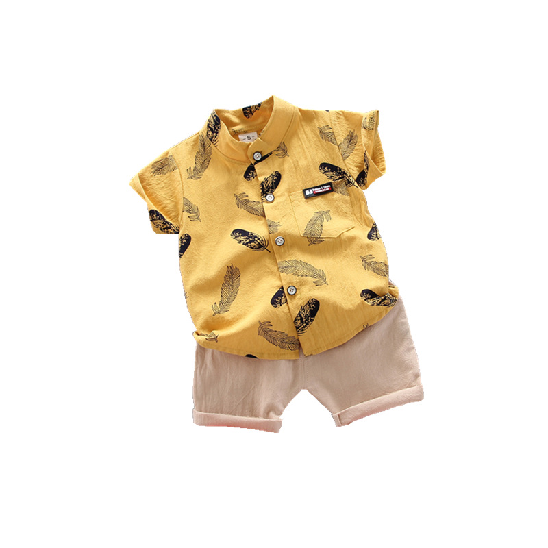 Boy Clothing Casual  Baby Girl's Summer Clothes   Set Sports shirt+ Shorts Suits  Clothes Cotton products Kids clothes 5