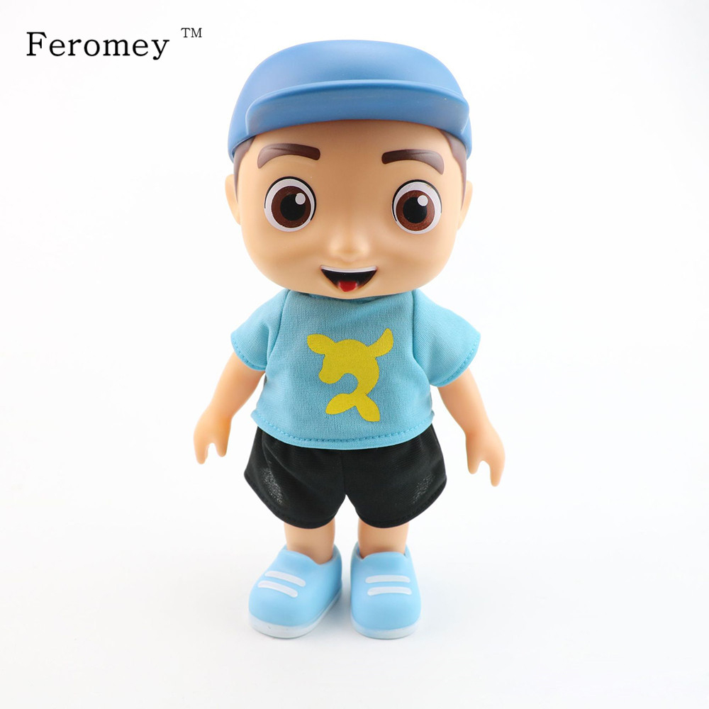 25cm Cute Luccas Neto Talking With Sound Vinyl Doll Luccas Action Figure Doll Kids Collection Model Toy Birthday Gifts