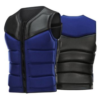 SBART Oversized Buoyancy Windproof Fly Fishing glideskin Life Vest Clothing Vest Detachable Breathable Life jacket Aid Sailing