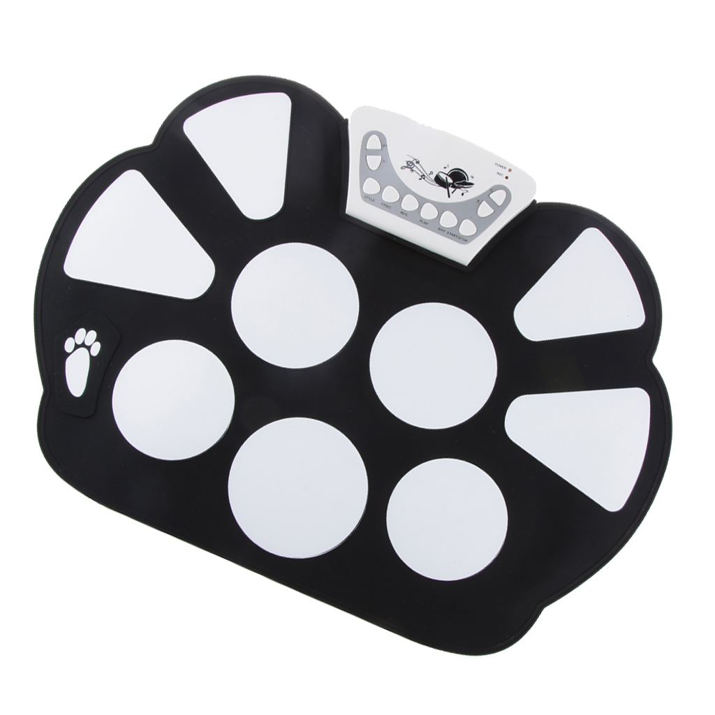 Music Games Drums And Electronic Percussion Drum With Silicone Drumsticks