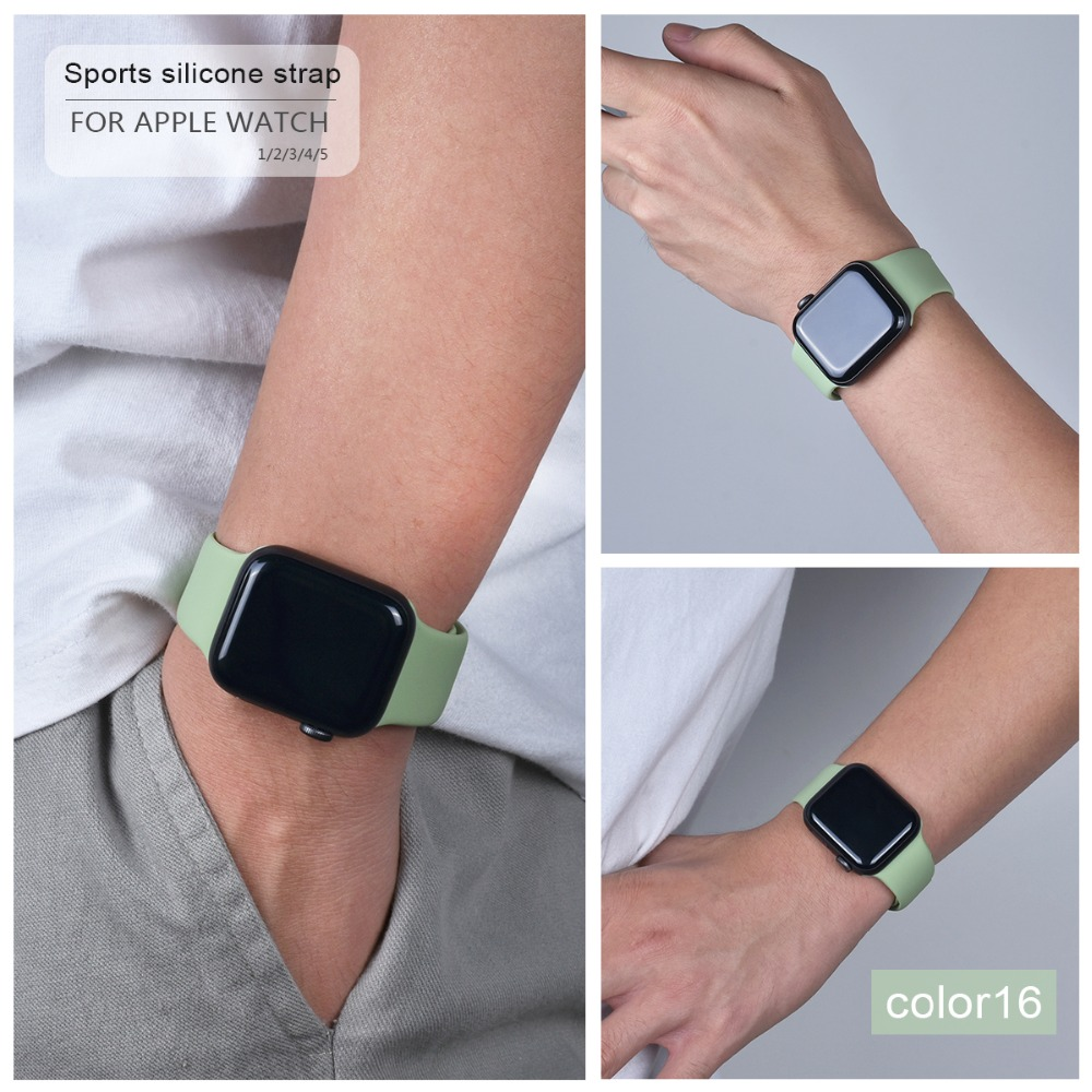 Soft Silicone Band for Apple Watch 102
