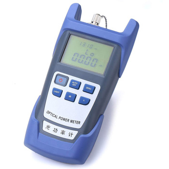 Portable FTTH Fiber Optical Power Meter -70~+10dB Optic Cable Tester Network with FC SC Interfaces for CATV CCTV Test joinwit jw3208a portable 70 3dbm fiber optic power meter used in telecommunications free shipping