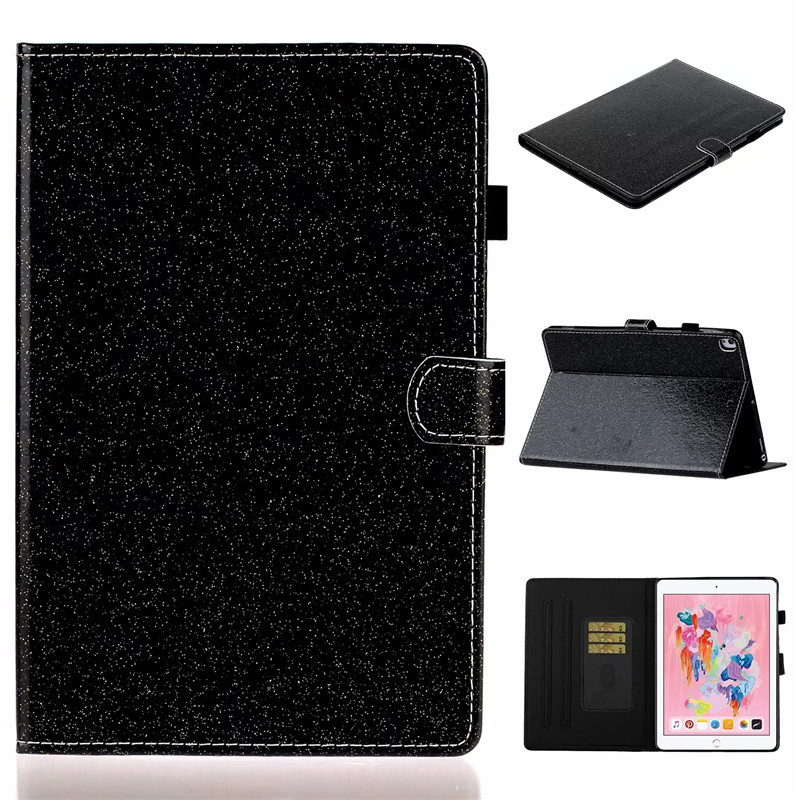 Bling Tablet Apple generation For 7th iPad Flip iPad Cover For Wallet Glitter Stand case
