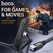 все цены на hoco for lightning fast charging cable usb wire nylon charger for iphone holder bracket stand right angled joint for gaming play онлайн