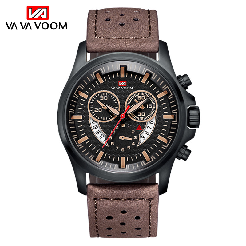 Quartz Watches Clock Male Military Sports Waterproof Casual New-Fashion Luxury Brand