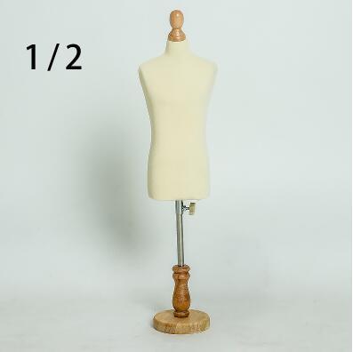 1/2 femme robe forme Mannequin, bijoux flexible femmes étudiant couture, 1: 2 échelle Jersey buste, support réglable Mini taille, C810