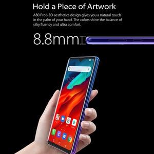 Image 3 - Global Version Blackview A80 Pro 4GB+64GB 4680mAh Mobile Phone Quad Rear Camera 6.49 Waterdrop Cellphone 4G Celular Smartphone