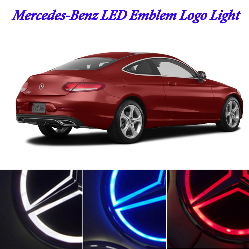 5D <font><b>LED</b></font> marker light for mercedes benz w212 w124 w639 w211 w209 w205 w204 w203 <font><b>w202</b></font> w163 <font><b>led</b></font> logo badge logo light image