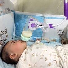 Baby bottle holder 105 cm Rack baby hand feeding bottles drinking water clip Drying