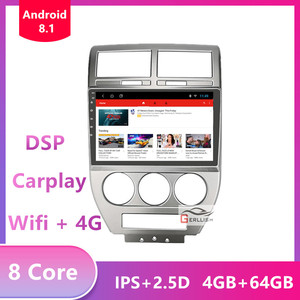 Android 9.0 For Jeep Compass MK 2006 2008 2009 2010 Car Radio Multimedia Video Player Navigation GPS No 2 din dvd(China)