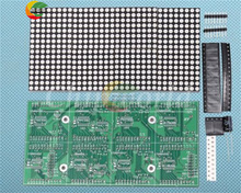 Ziqqucu 16x32 Red Green LED Dot Matrix Control Display Module DIY Kit for Arduino 51