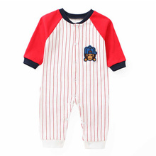 2019 Baby Boy Autumn Clothes Boys Girls Clothing Rompers Long Sleeve Unisex Long-sleeved Set
