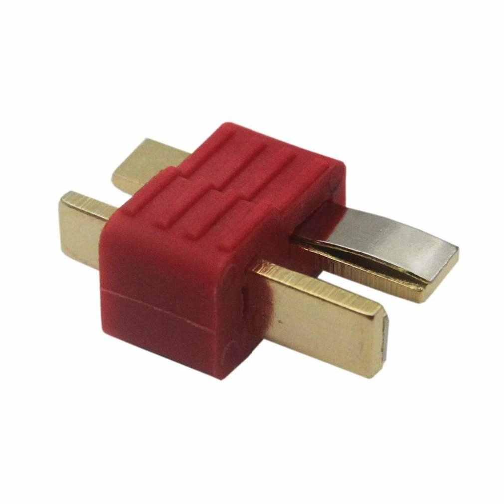 T-Plug ใหม่ลื่นตัวเชื่อมต่อชาย Deans สำหรับ Deans RC LiPo แบตเตอรี่เฮลิคอปเตอร์